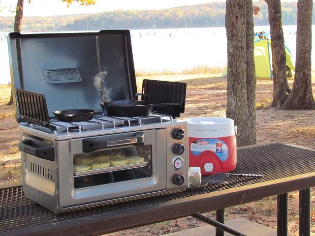 Coleman Signature Series Portable InstaStart Stove Oven | ActionHub