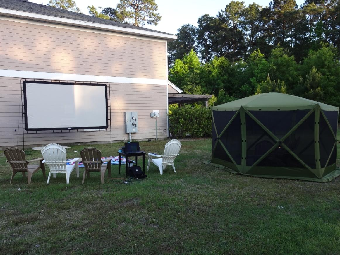 camp chef u0027s outdoor big screen makes movie night a hit outdoor hub