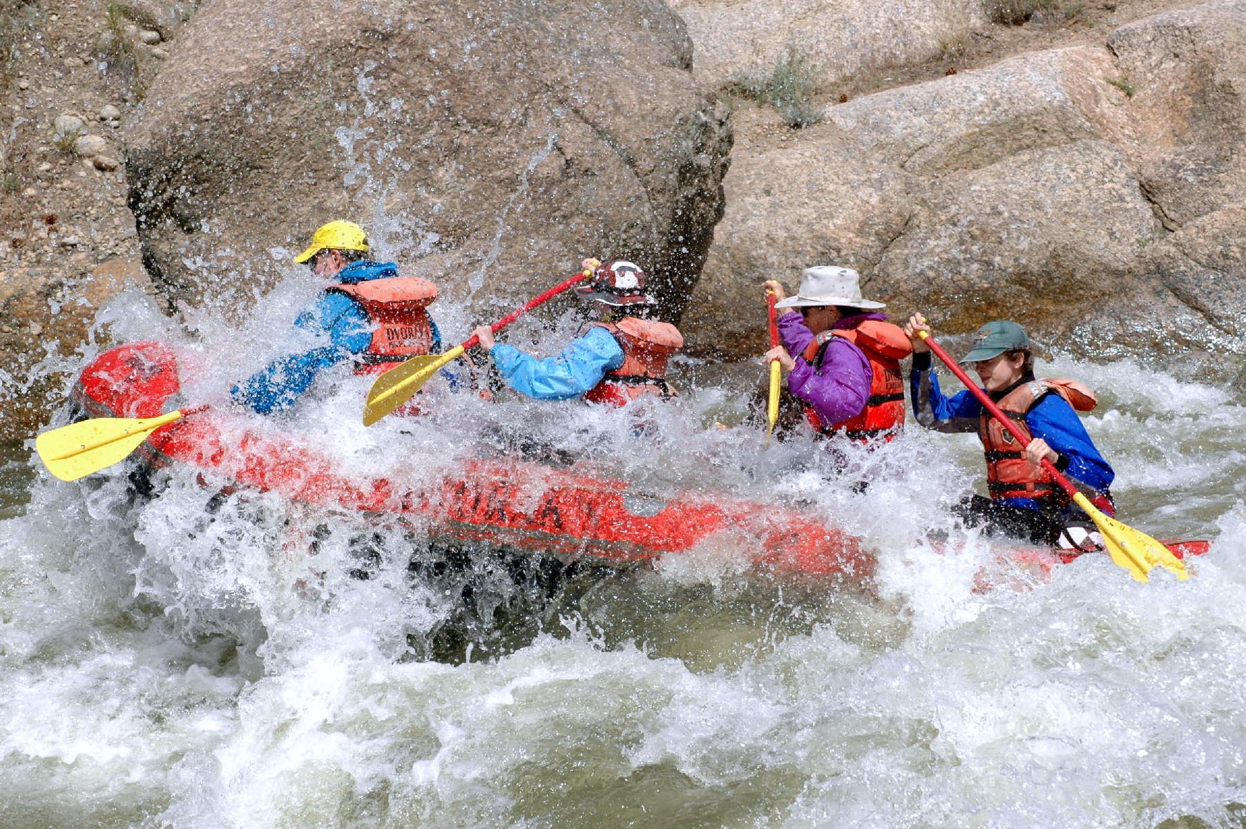 White Water Rafting Learning The Basics Actionhub