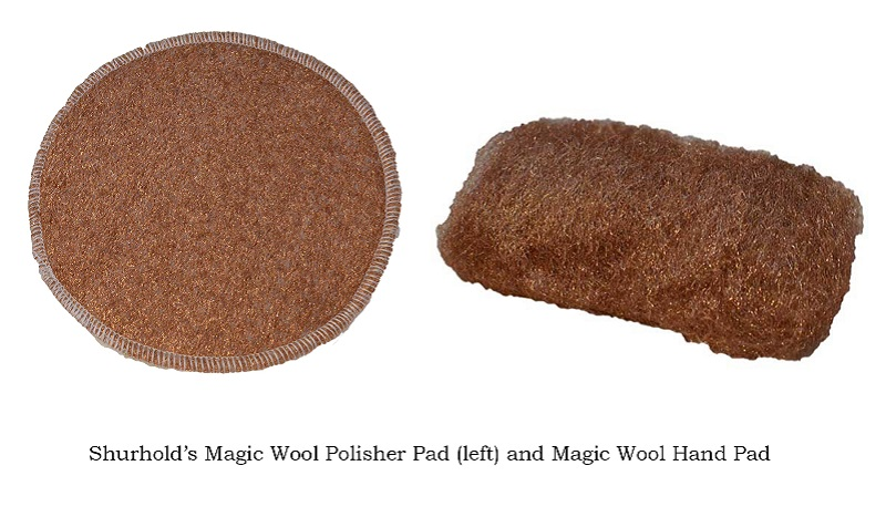 how to clean electrode strips with steel wool