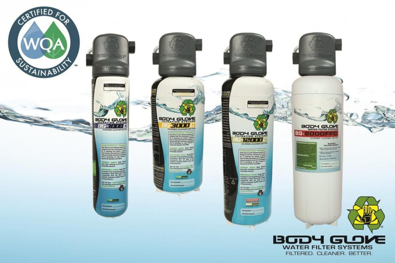 Body Glove Water Filtration Systems Earn Wqa Sustaility Certification