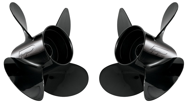 Hustler boat propellers