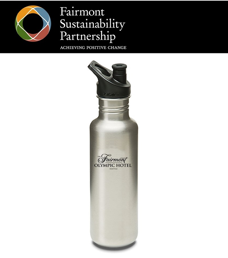 Klean Kanteen and the Fairmont Olympic Hotel Team Up to ...