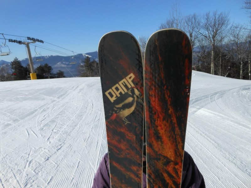 RAMP Woodpecker Skis | ActionHub
