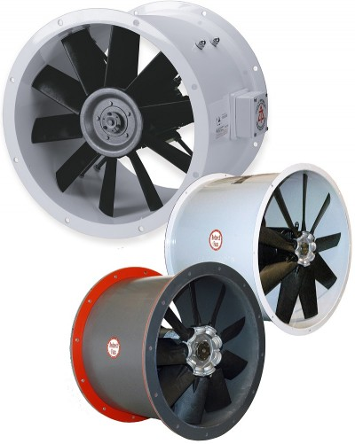 Boat Engine Room: Axial Fans Are Heart Of Engine Room Ventilation