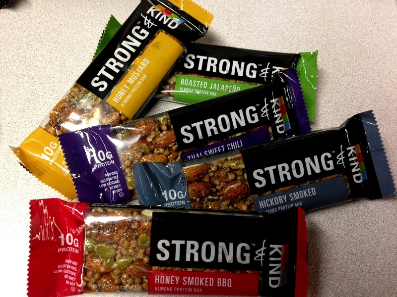 strong and kind bars Kind makes wholesome, delicious, gluten free snacks with ingredients you can see and pronounce like whole grains, fruit, and whole nuts.
