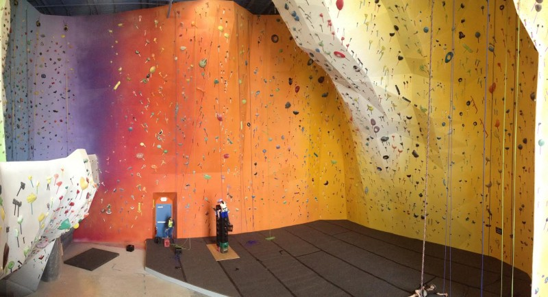 Planet rock climbing gym has new features old faces