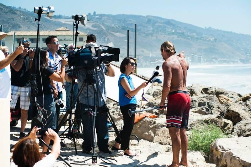 Laird Hamilton Rescues Fellow Surfer in Malibu | ActionHub  Laird Hamilton 2014