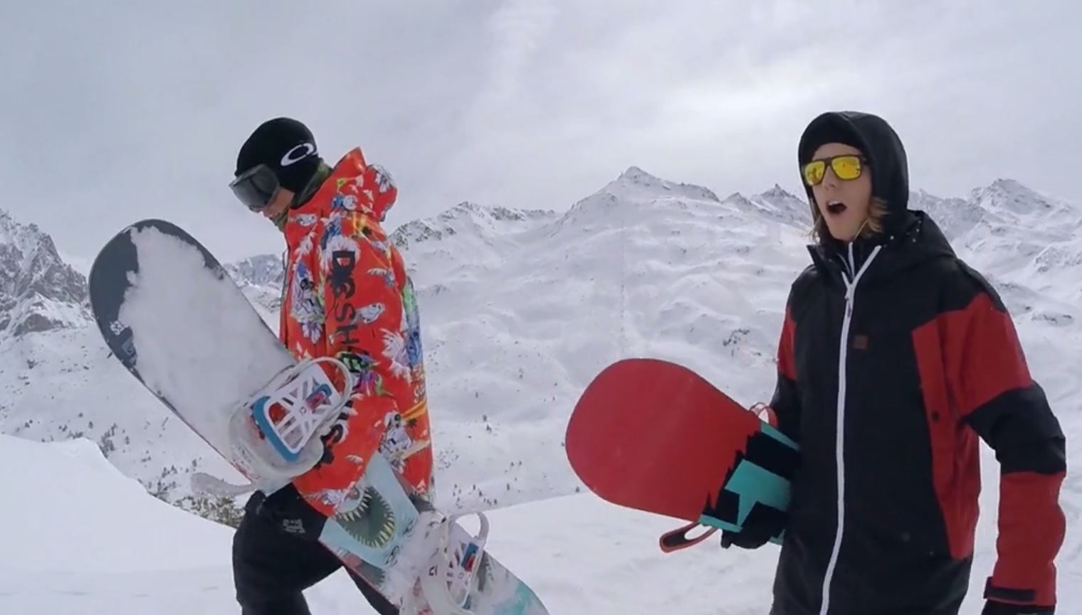 236984dc6e8e Shred Bots  The Movie with Pro Snowboarder Torstein Horgmo