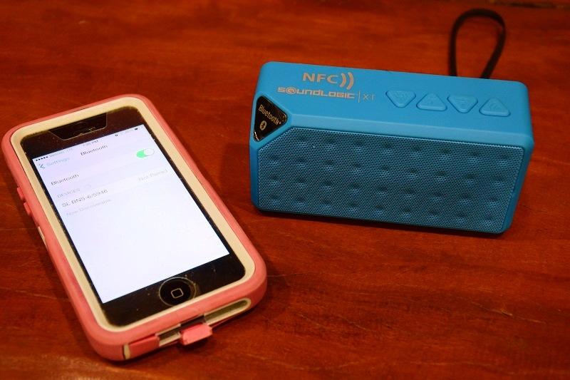 SoundLogic XT Brick NFC Bluetooth Wireless Speaker | ActionHub