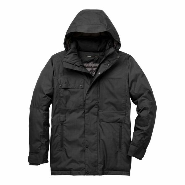 Nau's Blazing Men's Jacket incorporates down that comes from reclaimed European duvets.