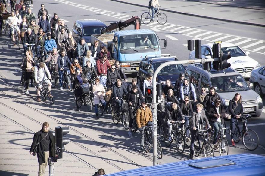 Copenhagen topped the list. Image courtesy of Copenhagenize Design Co.