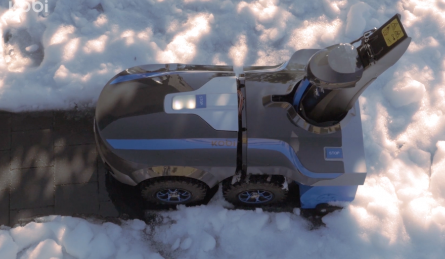 Robot Snow Shovel | ActionHub