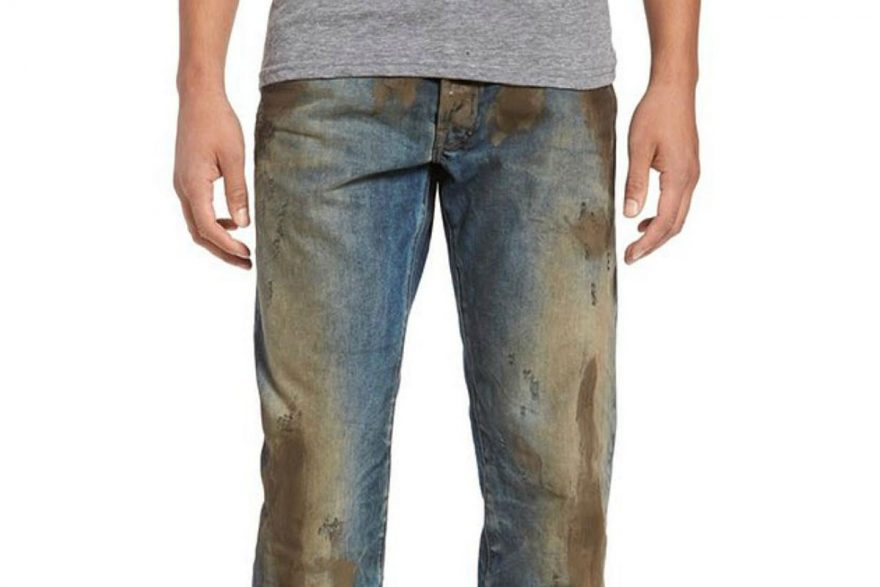 Nordstrom's $425 Mud-Look Jeans | ActionHub