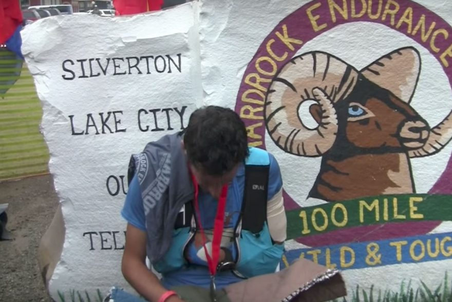 Kilian Jornet wins Hardrock 100 with dislocated shoulder | ActionHub
