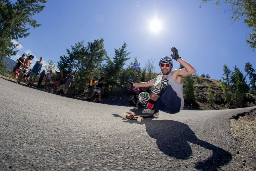No Hands Allowed Downhill Longboarding | ActionHub