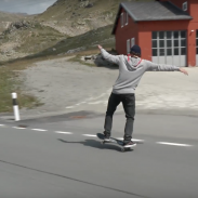 Simon Stricker Sets Longest Manual On A Skateboard Record | ActionHub