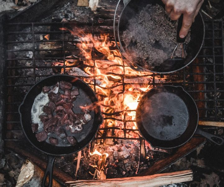 An easy guide to camping grill cooking | ActionHub