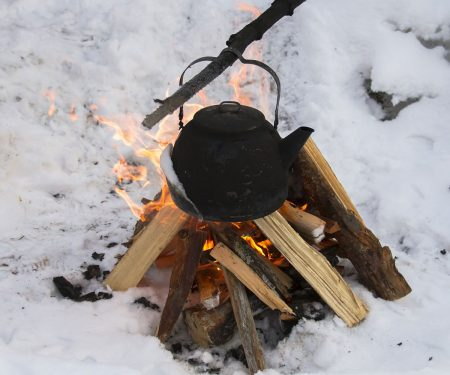 How to start a fire in the snow | ActionHub