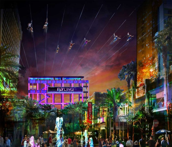 Ten zip lines to be installed above Las Vegas strip in 2018 | ActionHub