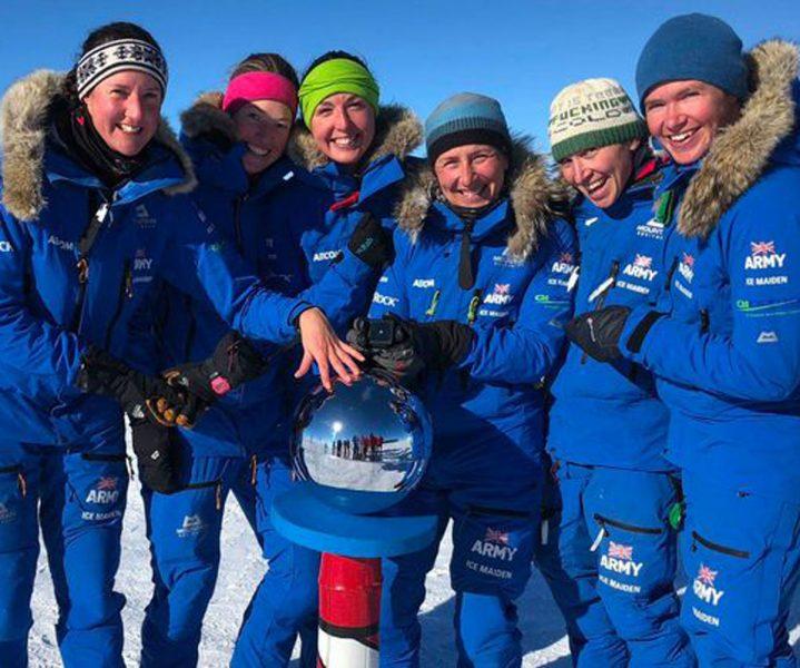 All-female team of six cross Antarctica on foot | ActionHub