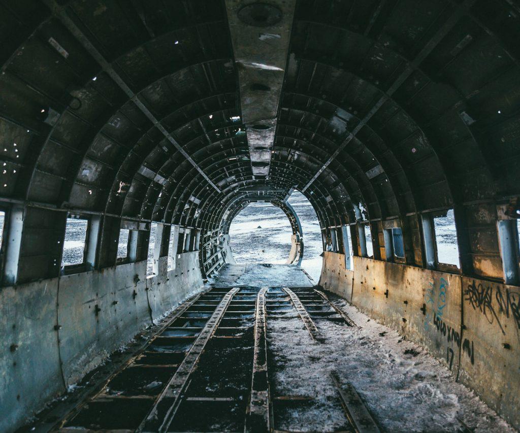 Exploring Iceland's haunting DC plane wreck | ActionHub
