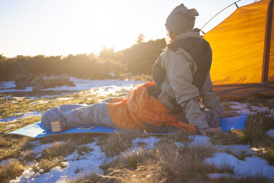 Synthetic or down sleeping bag? | ActionHub