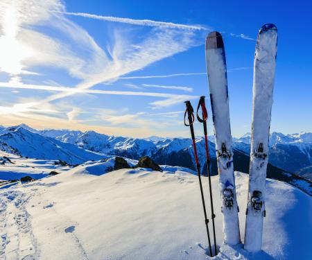 challenging ski runs