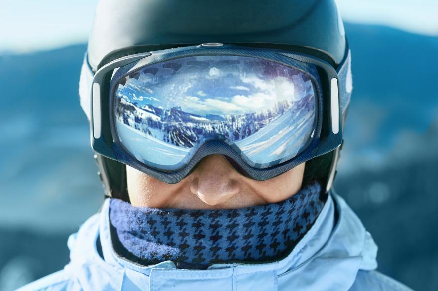 ski backwards