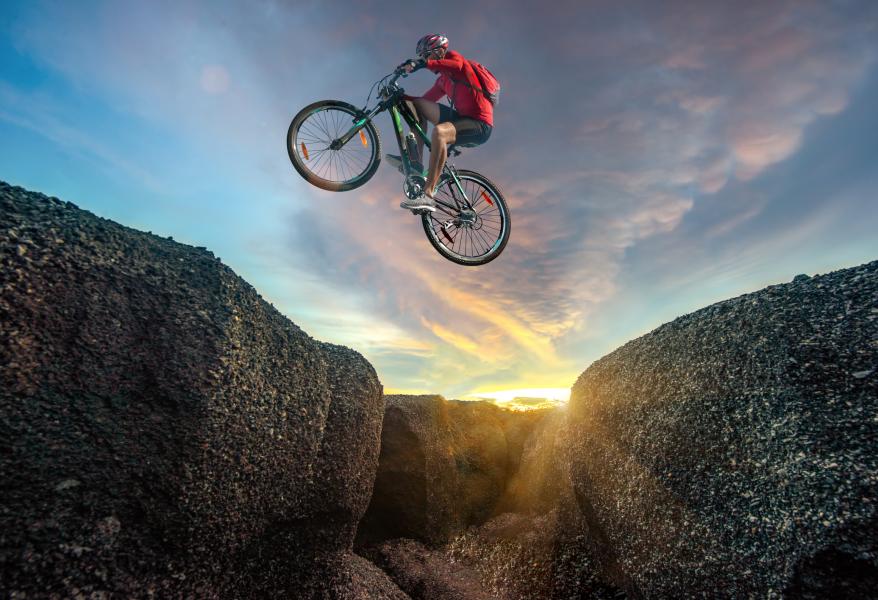 dangerous mountain bike