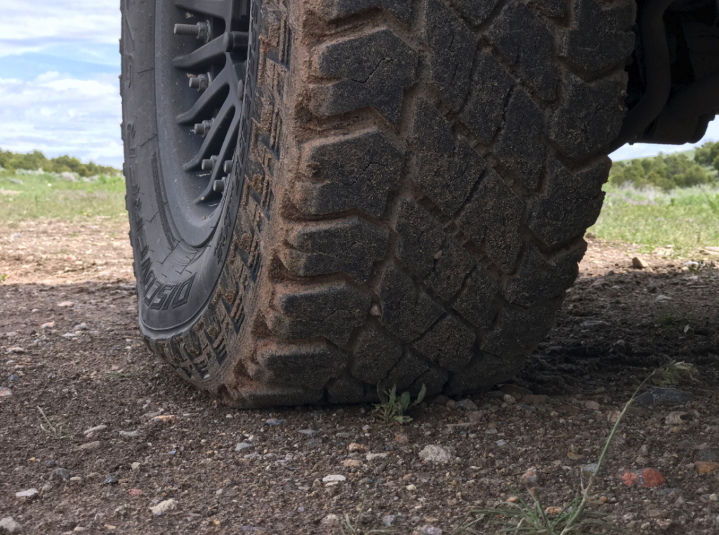 airing down tires 10