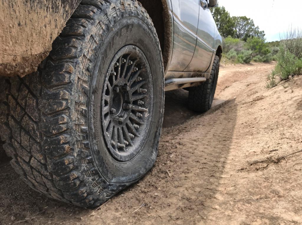 airing down tires 11