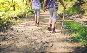 kids hiking sticks