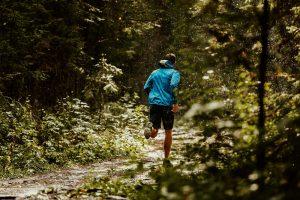 muddy trail run