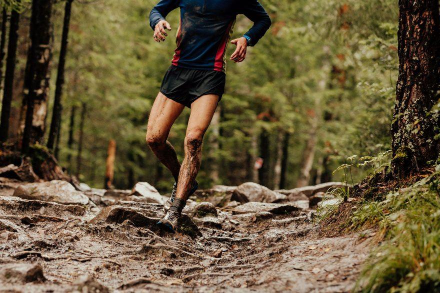 trail running mud