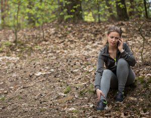 hurt hiker