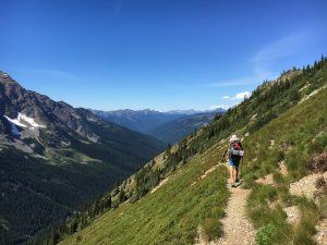 pacific crest trail hiker