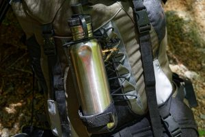 water bottle backpacking