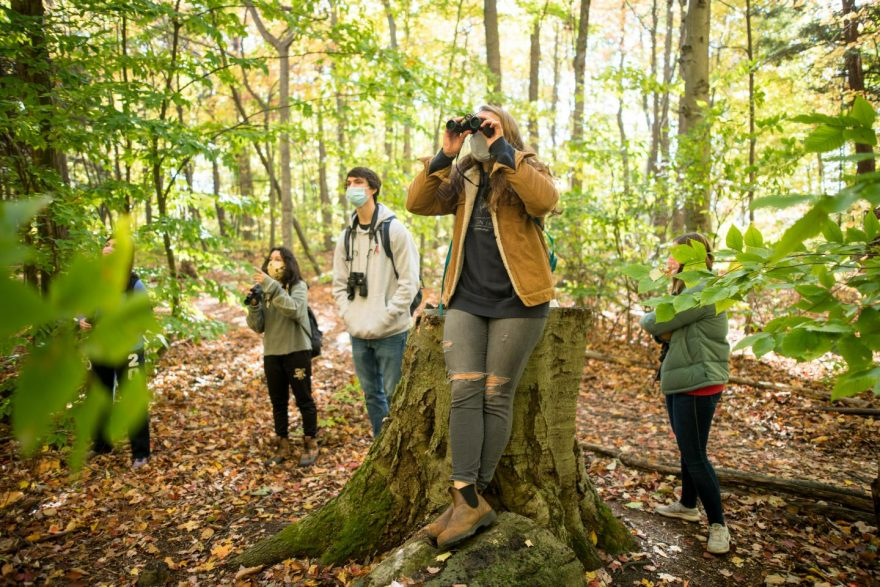 vermont-students-nature