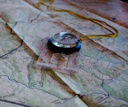 map and compass skills