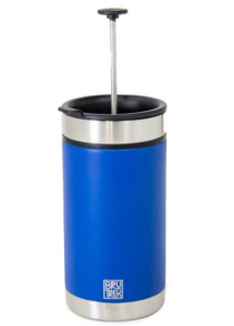 BruTek Steel French Press Travel Mug