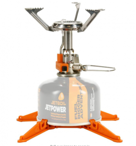 Jetboil MightyMo Ultralight and Compact Camping and Backbacking Stove
