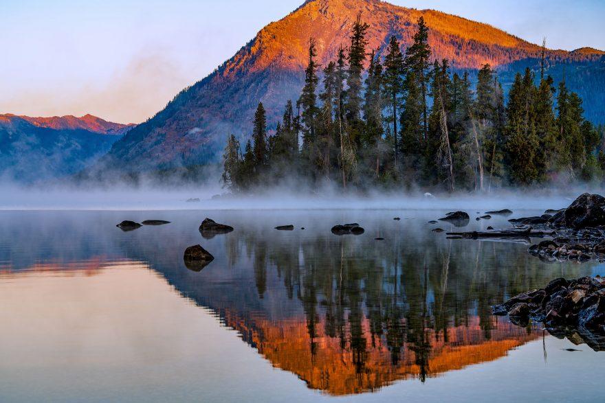 lake wenatchee SUP