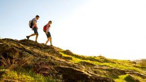 hiking-sunny-mountain
