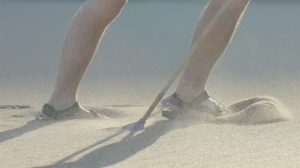 Wade-Holland-feet-burning-in-the-blistering-hot-sand