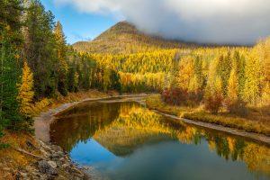 glacier-national-park-fall-color